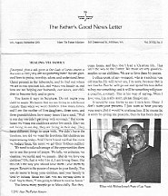 The Father's Good Newsletter