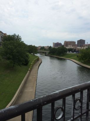 Brush Creek is south of the Nelson-Atkins museum through the Cultural District
