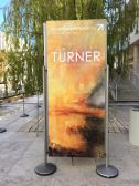 The Turner exhibit in collaboration with the Tate Museum just opened at the Getty.