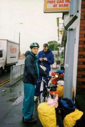Rainy Start to Chester