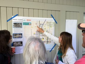Santa Monica's bike coordinator explaining upcoming projects
