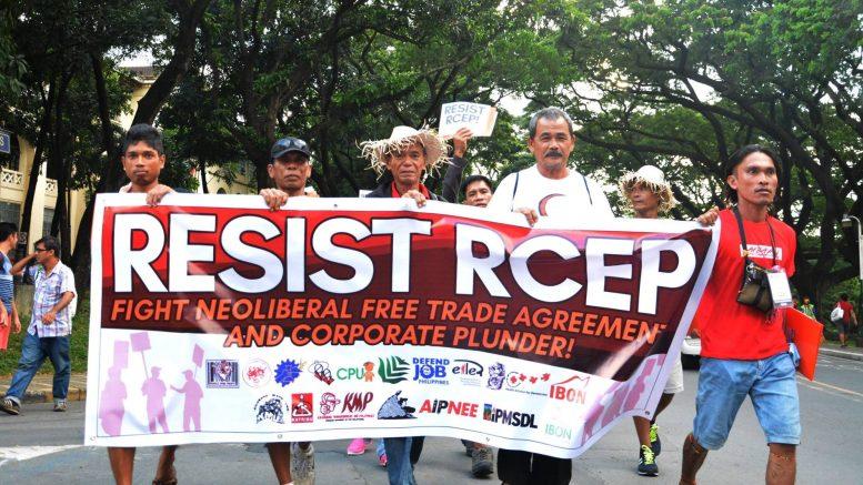 Resist RCEP