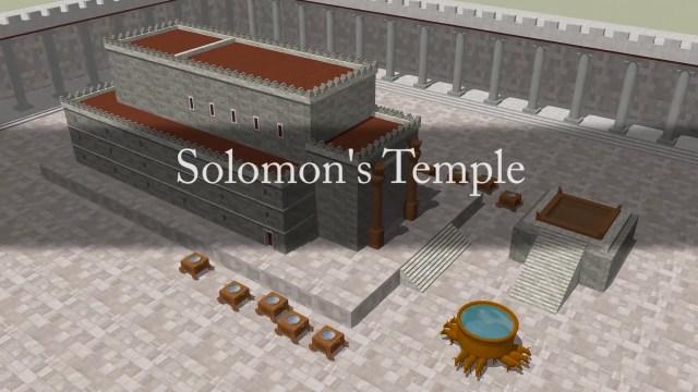The temple of Salomon