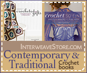 Crochet Books from Interweave!