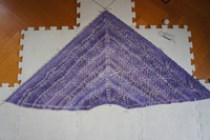 shawl block
