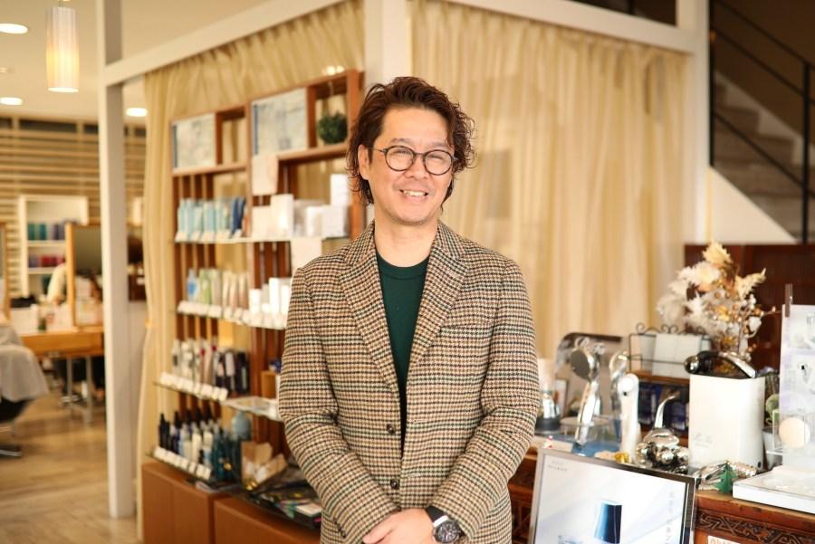 高知を中心に14店舗を展開する美容室「RT」社長 山本 晋爾