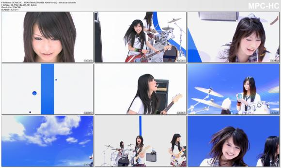 Download SCANDAL - BEAUTeen! [480p]  [PV]