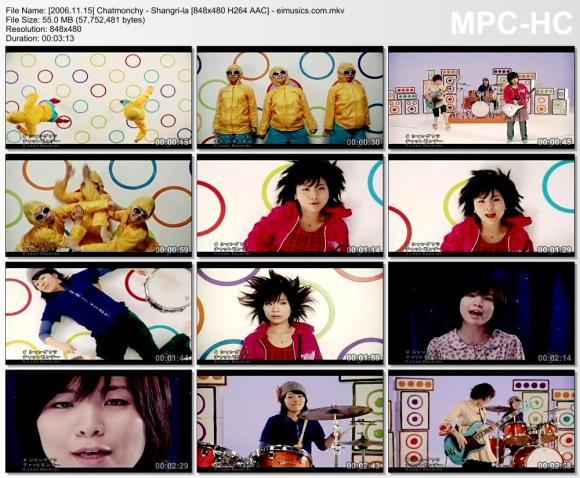 Download Chatmonchy - Shangri-la [480p]   [PV]
