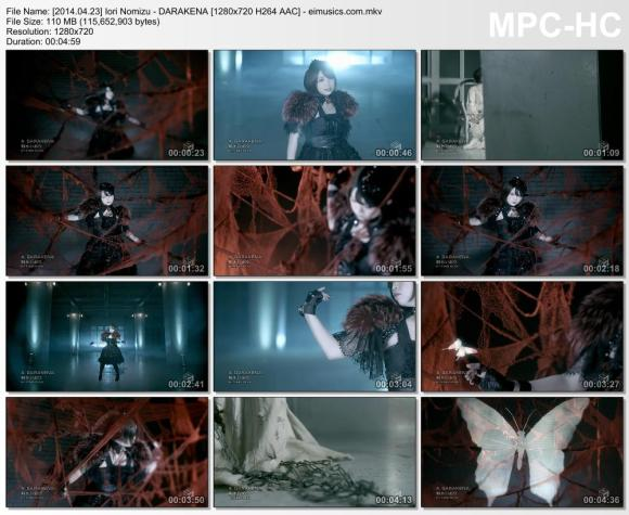Download Iori Nomizu - DARAKENA [720p]   [PV]