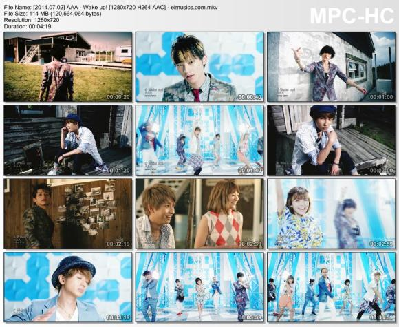 Download AAA - Wake up! [720p]   [PV]