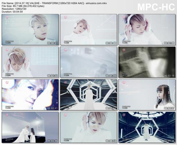 Download VALSHE - TRANSFORM [720p]   [PV]