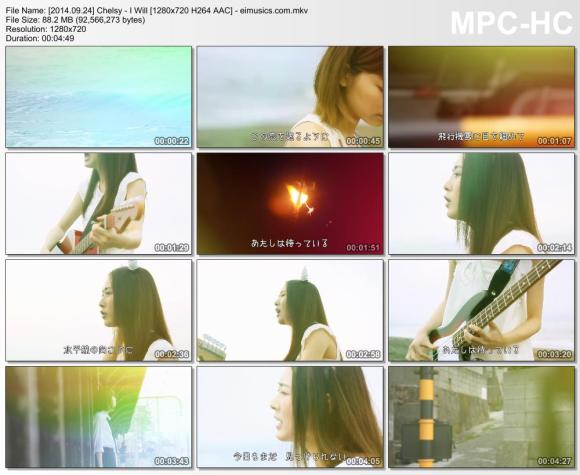 Download Chelsy - I Will [720p]   [PV]