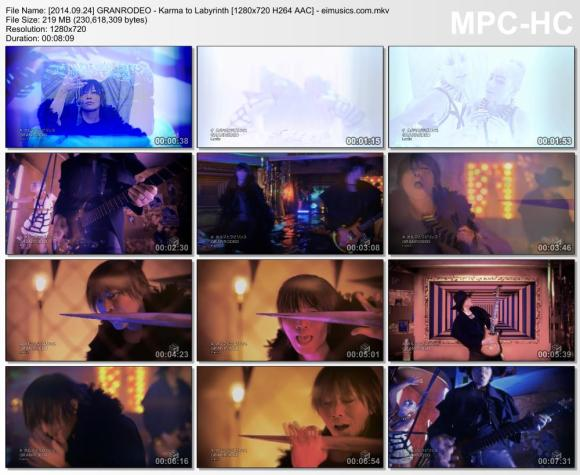 Download GRANRODEO - Karma to Labyrinth [720p]   [PV]