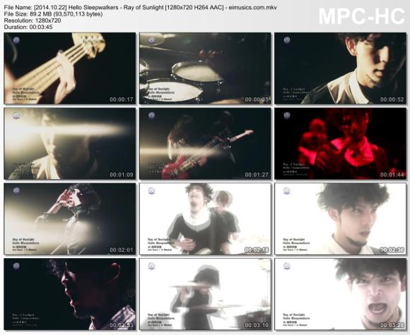 Download Hello Sleepwalkers - Ray of Sunlight [720p]   [PV]