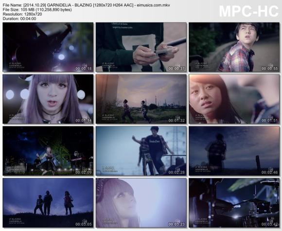 Download GARNiDELiA - BLAZING [720p]   [PV]