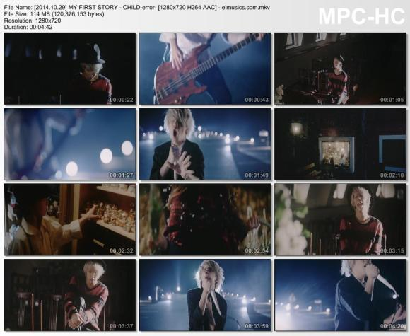 Download MY FIRST STORY - CHiLD-error- [720p]   [PV]