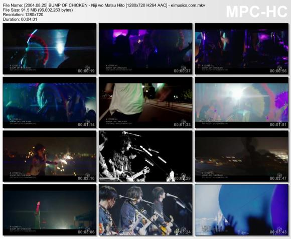 Download BUMP OF CHICKEN - Niji wo Matsu Hito [720p]   [PV]