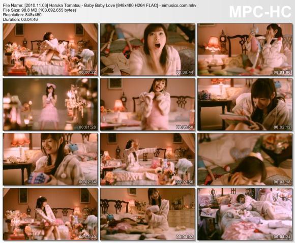 Download Haruka Tomatsu - Baby Baby Love [480p]   [PV]