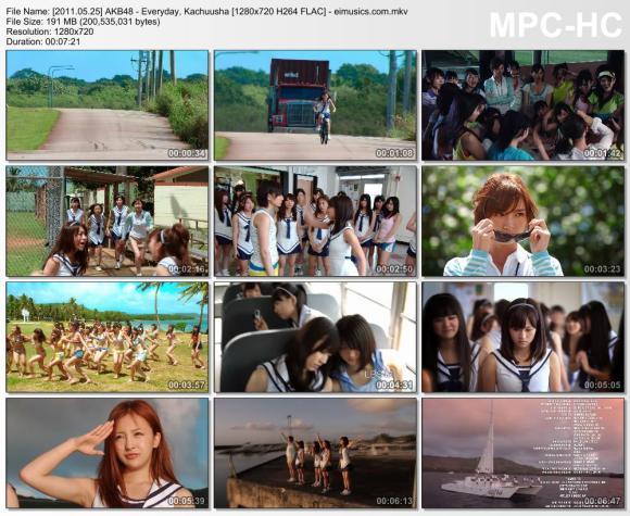 Download AKB48 - Everyday, Kachuusha [720p]   [PV]