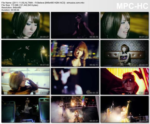 Download ALTIMA - I'll Believe [480p]  [PV]