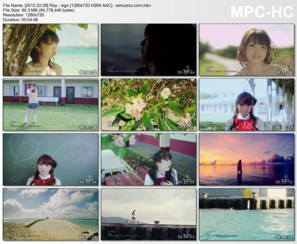 Download Ray - sign [720p]   [PV]