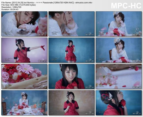 Download Iori Nomizu - *** Passionate [720p]   [PV]