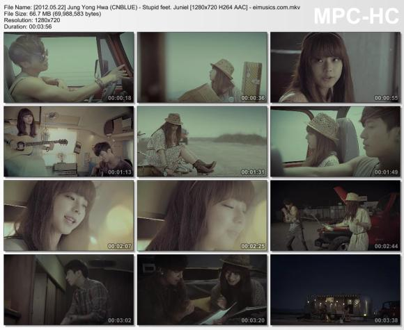 Download Jung Yong Hwa (CNBLUE) - Stupid feet. Juniel [720p]   [MV]