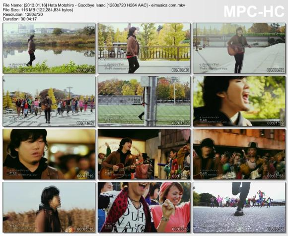 Download Hata Motohiro - Goodbye Isaac [720p]   [PV]