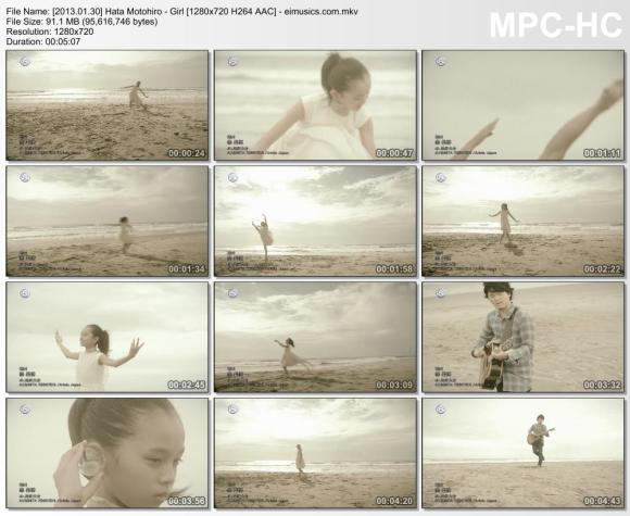 Download Hata Motohiro - Girl [720p]   [PV]