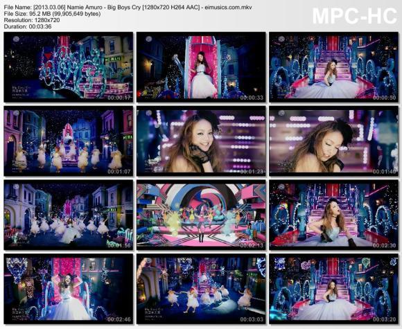 Download Namie Amuro - Big Boys Cry [720p]   [PV]