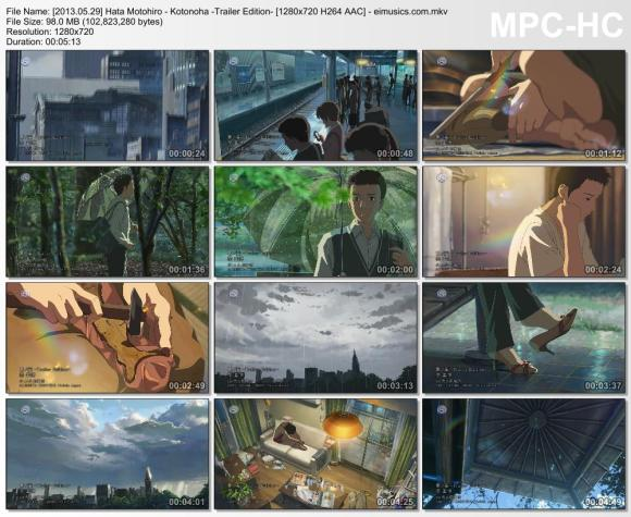 Download Hata Motohiro - Kotonoha -Trailer Edition- [720p]   [PV]