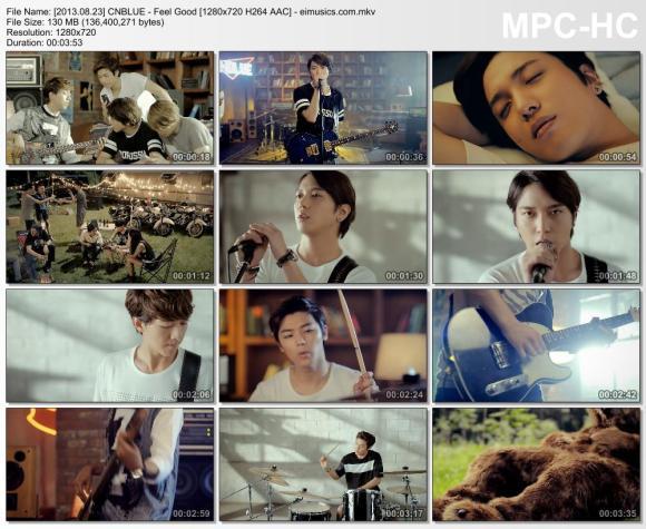 Download CNBLUE - Feel Good [720p]   [MV]