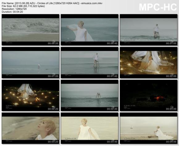 Download AZU - Circles of Life [720p]   [PV]