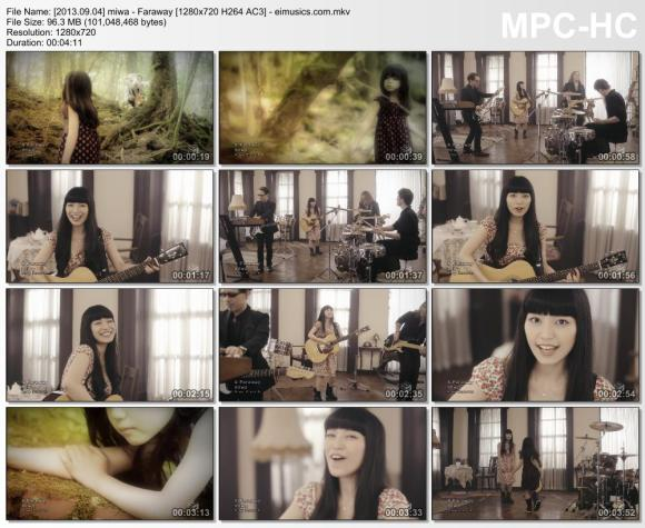 Download miwa - Faraway [720p]  [PV]