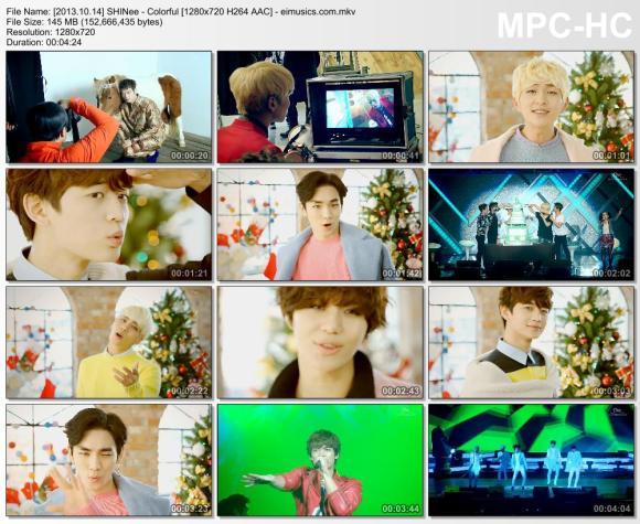 Download SHINee - Colorful [720p]   [MV]