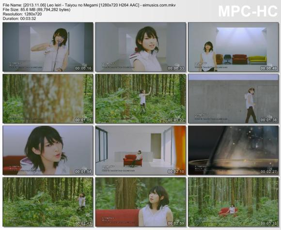 Download Leo Ieiri - Taiyou no Megami [720p]   [PV]