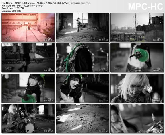 Download angela - ANGEL [720p]   [PV]