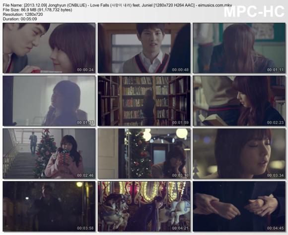 Download Jonghyun (CNBLUE) - Love Falls (사랑이 내려) feet. Juniel [720p]   [MV]