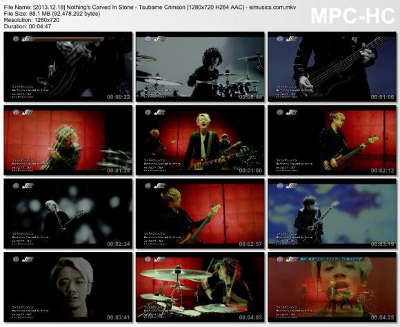 Download Nothing's Carved In Stone - Tsubame Crimson [720p]   [PV]