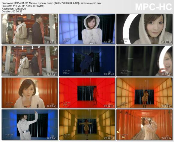 Download May'n - Kyou ni Koiiro [720p]   [PV]