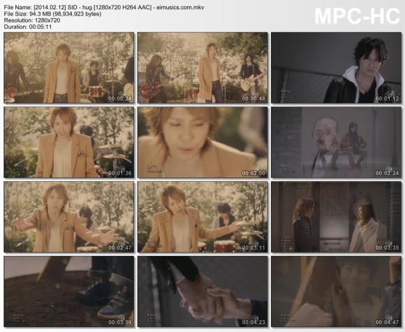 Download SID - hug [720p]   [PV]