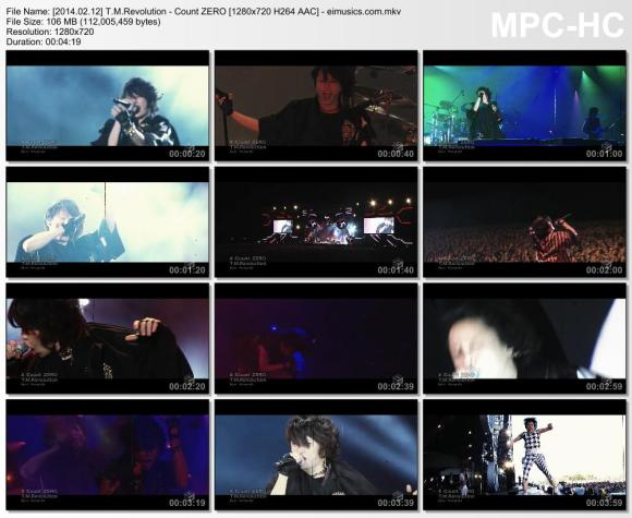 Download T.M.Revolution - Count ZERO [720p]   [PV]