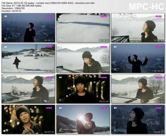 Download ayaka - number one [720p]   [PV]