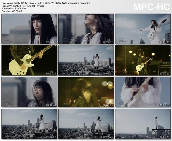 Download miwa - Faith [720p]   [PV]