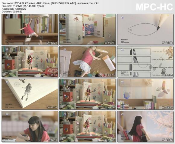 Download miwa - Kitto Kanau [720p]   [PV]