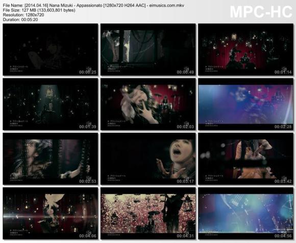 Download Nana Mizuki - Appassionato [720p]   [PV]