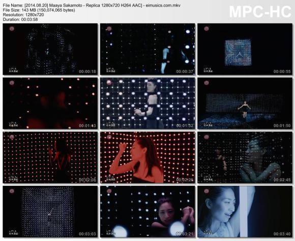 Download Maaya Sakamoto - Replica [720p]   [PV]