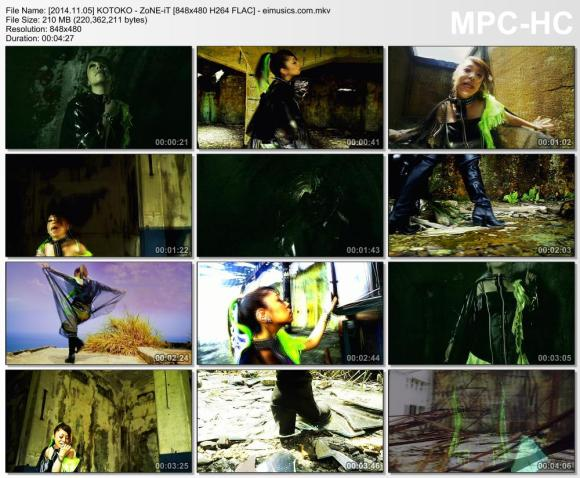 Download KOTOKO - ZoNE-iT [480p]   [PV]