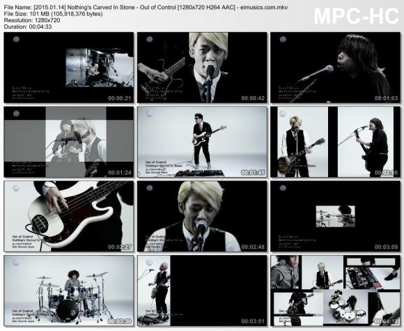 Download Nothing's Carved In Stone - Out of Control [720p]   [PV]