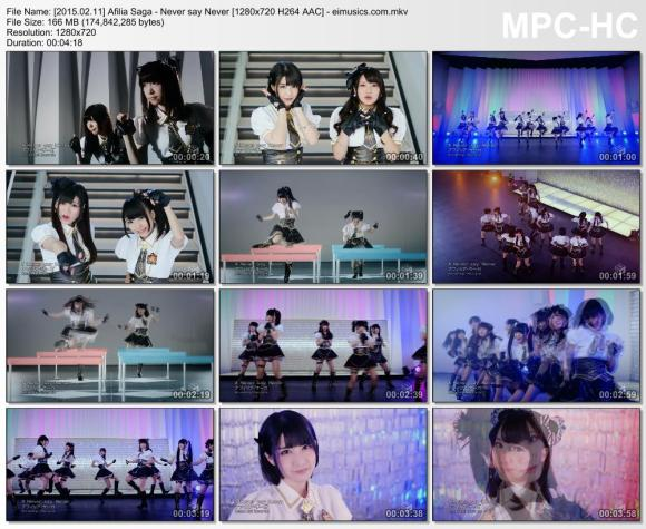 Download Afilia Saga - Never say Never [720p]   [PV]